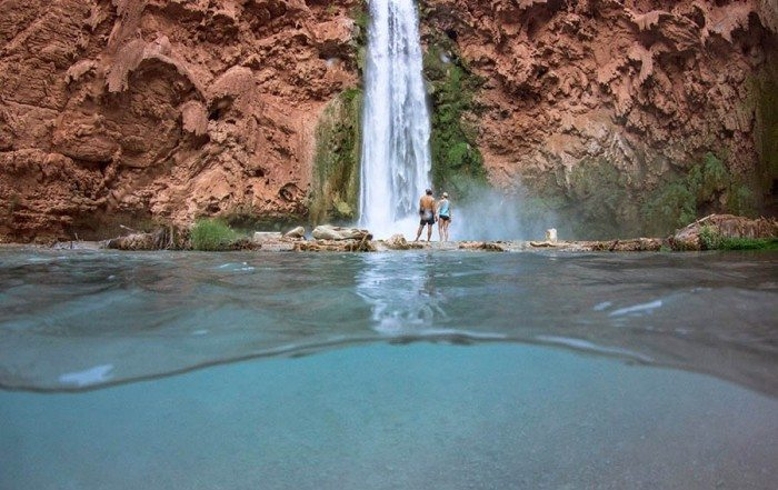 Havasupai Falls — see more of the photo essay from this Grand Canyon escape on @outdoorwomen.