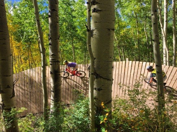 VIDA MTB Series Clinic at Snowmass