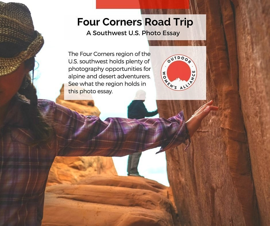 The Four Corners region of the U.S. southwest offers plenty of photography opportunities and outdoor adventure. Check out both in this road trip write up on @outdoorwomen.