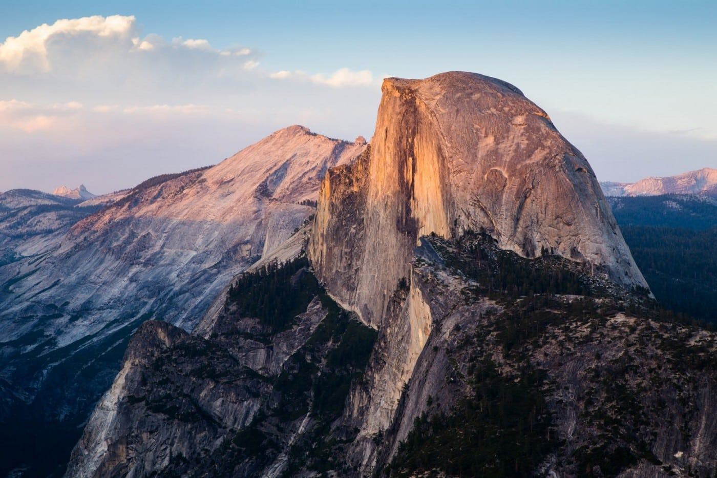 Half Dome Yosemite Valley Visitation