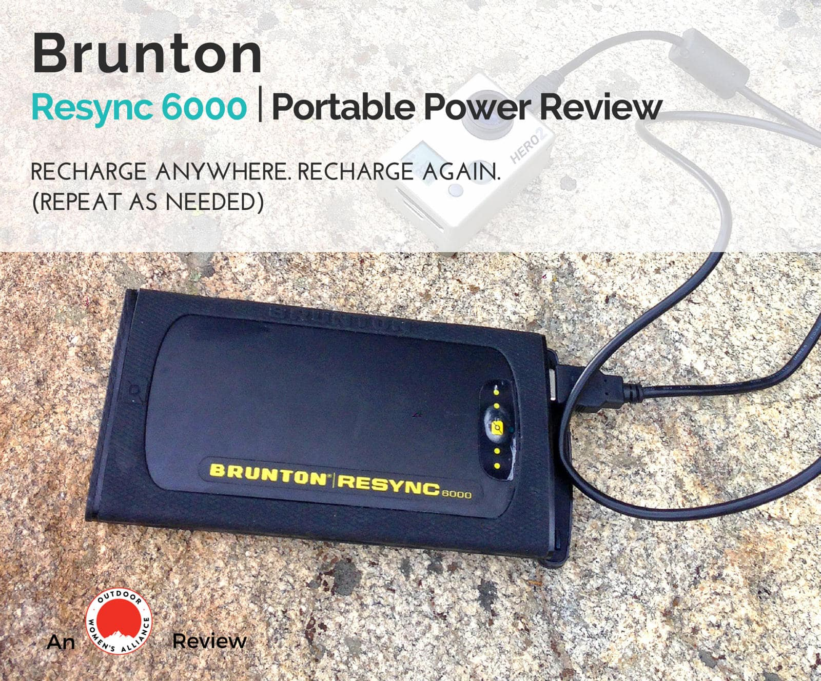 Owa Reviews Brunton Resync 6000 Solar Charger Outdoor