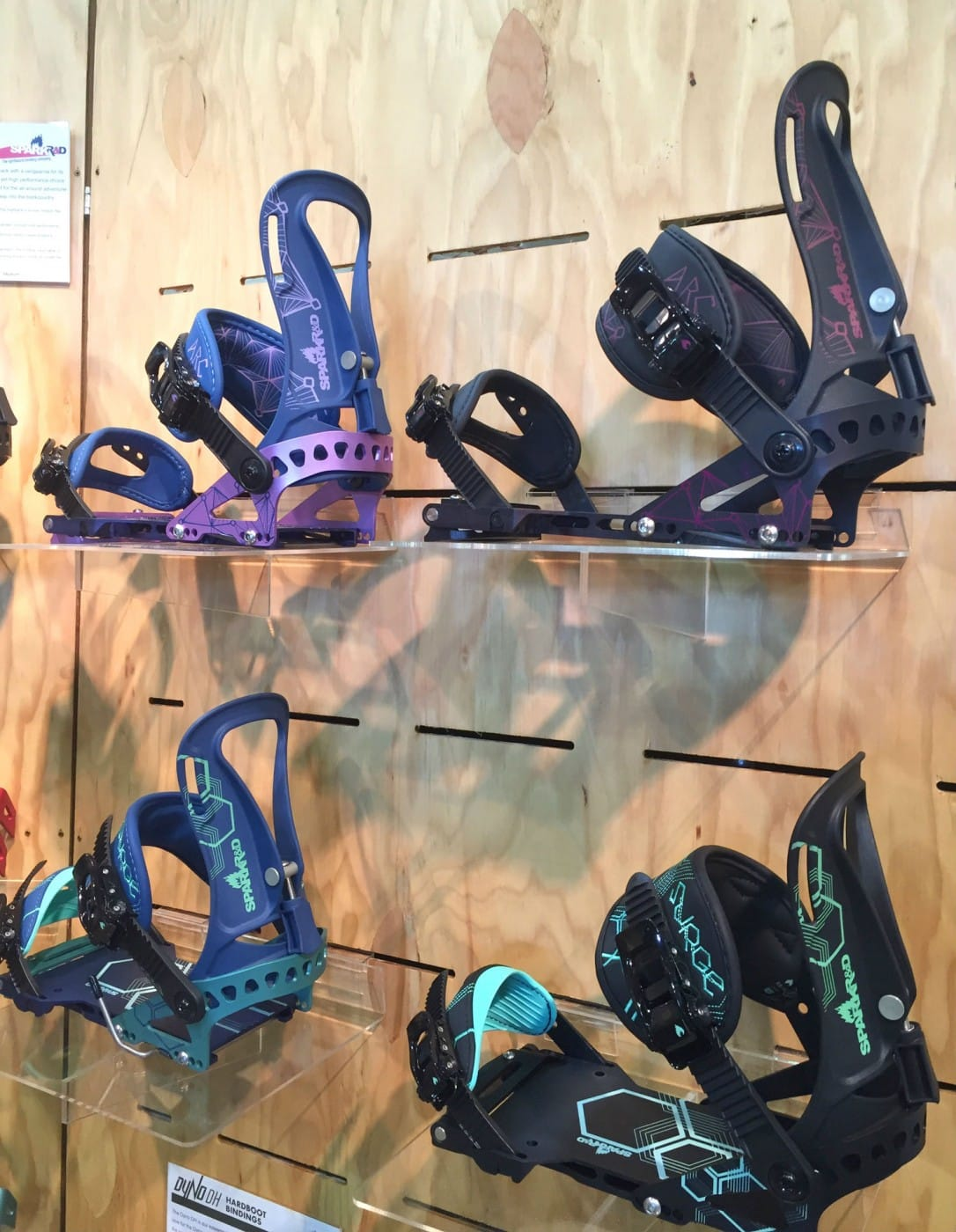 Best Women's Ski & Snowboard Gear 2017 Spark R&D Bindings