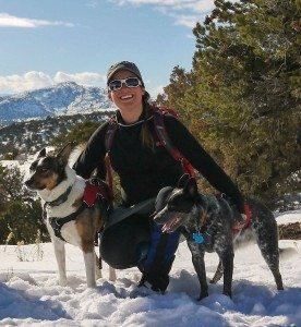 Backcountry Skiing while Pregnant Author Ryan Michelle Scavo