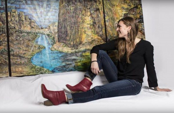 Smith Rock Climbing Live Your Dream Art Project with Meg