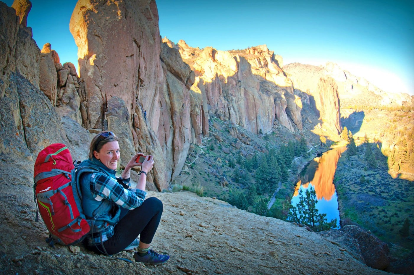 Smith Rock Climbing Live Your Dream Art Project
