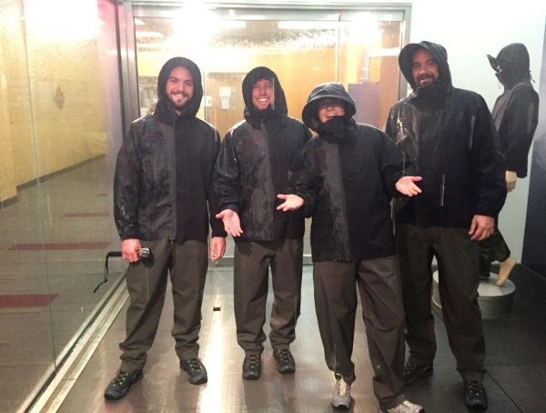 GORE-TEX The Science of staying dry - Rain Room
