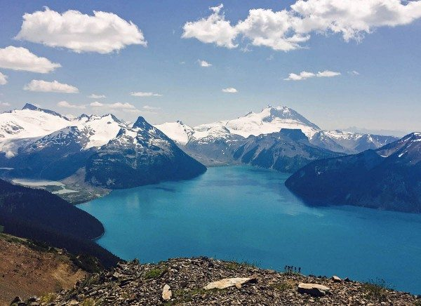 Garibaldi Lake Camping and Hiking - Views