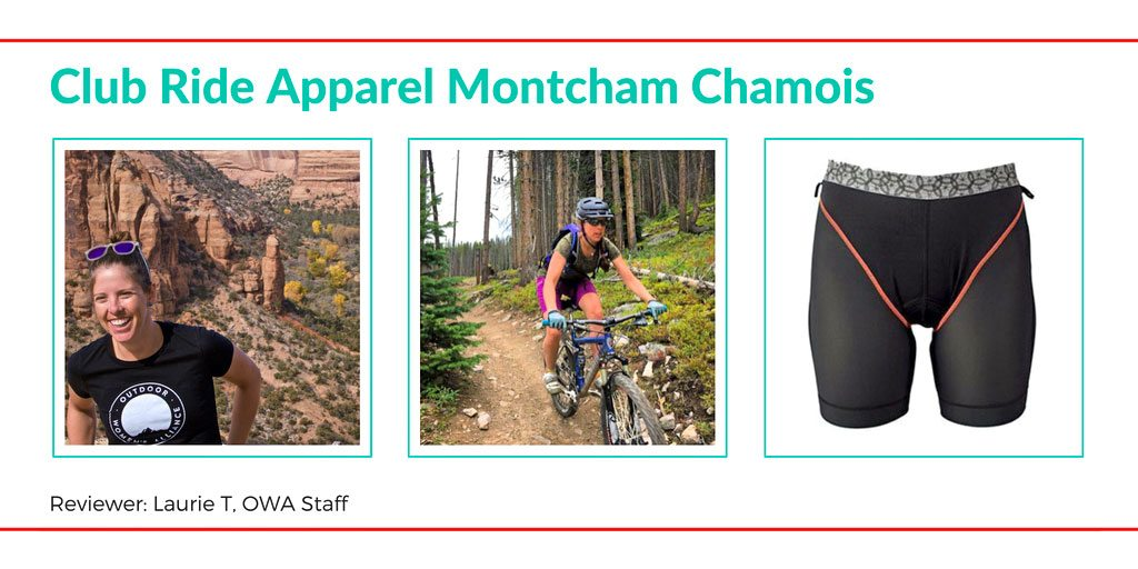 Club Ride Apparel Montcham Chamois