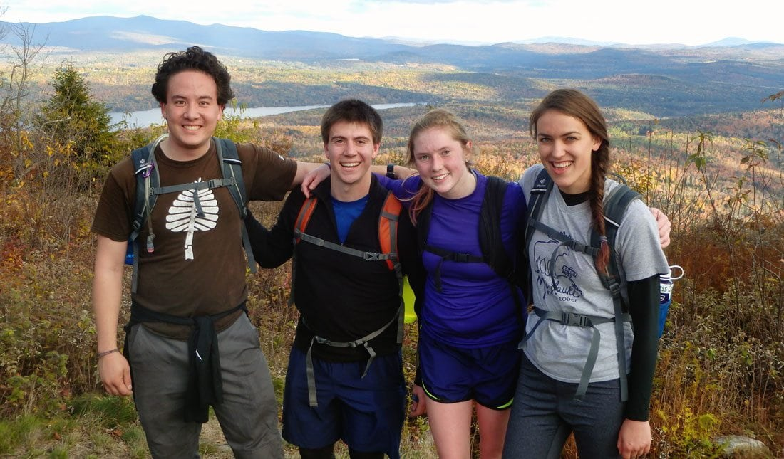 Hiking The 50 - Dartmouth College Team