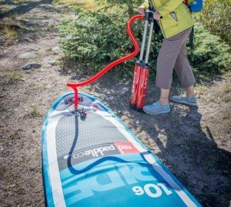 Red Paddle Co Inflatable SUP Review - Titan Pump