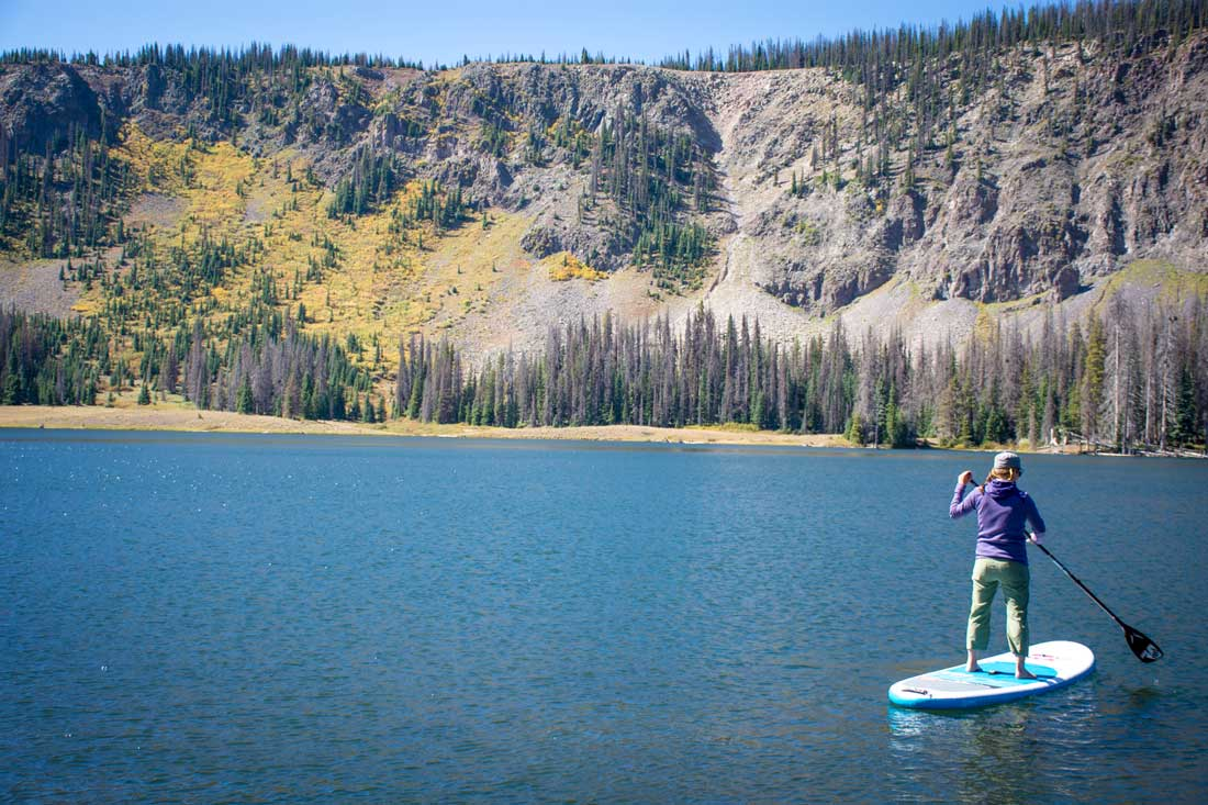 Red Paddle Co Inflatable SUP Review - in motion