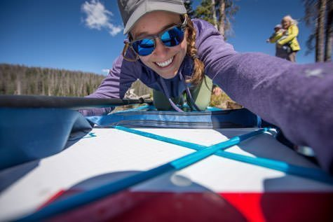 Red Paddle Co Inflatable SUP Review - the author