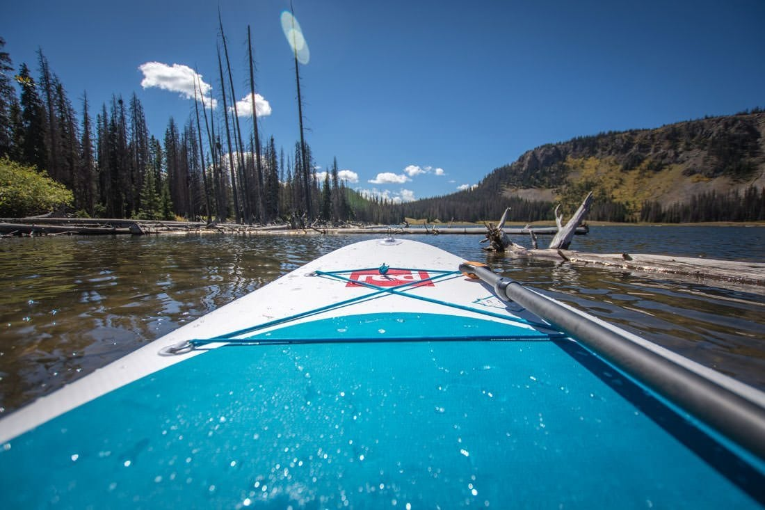 Red Paddle Co Inflatable SUP Review - view