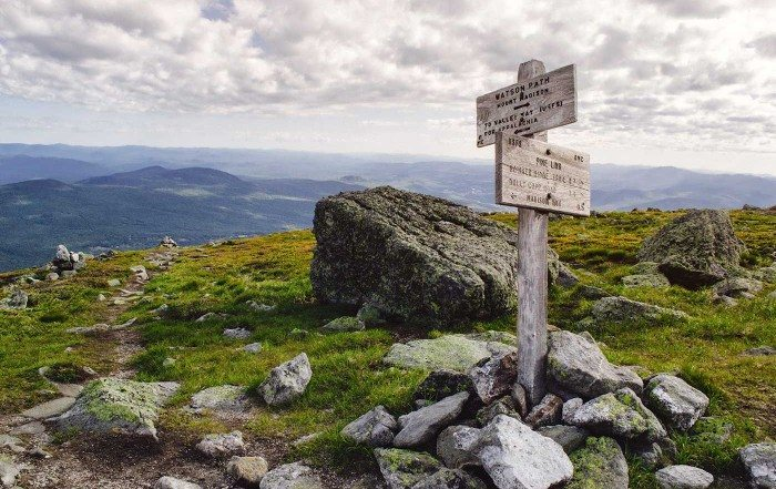 Solo Hiking Presidential Traverse - Trails