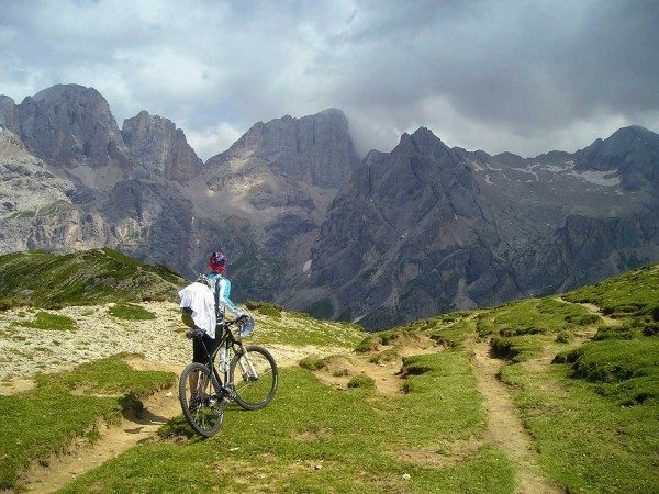 facing fears mountain biking - View