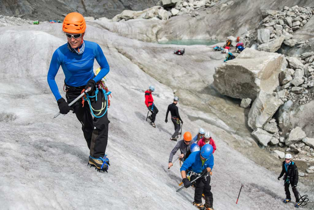Grand Parcours - Women Mountaineering - glacier travel
