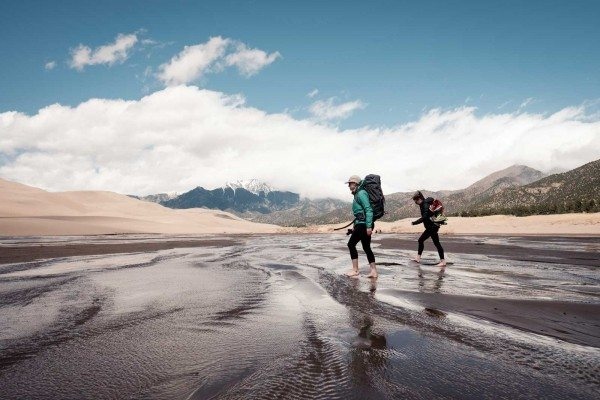 Saying Yes to Adventure - Sand Dunes Hike