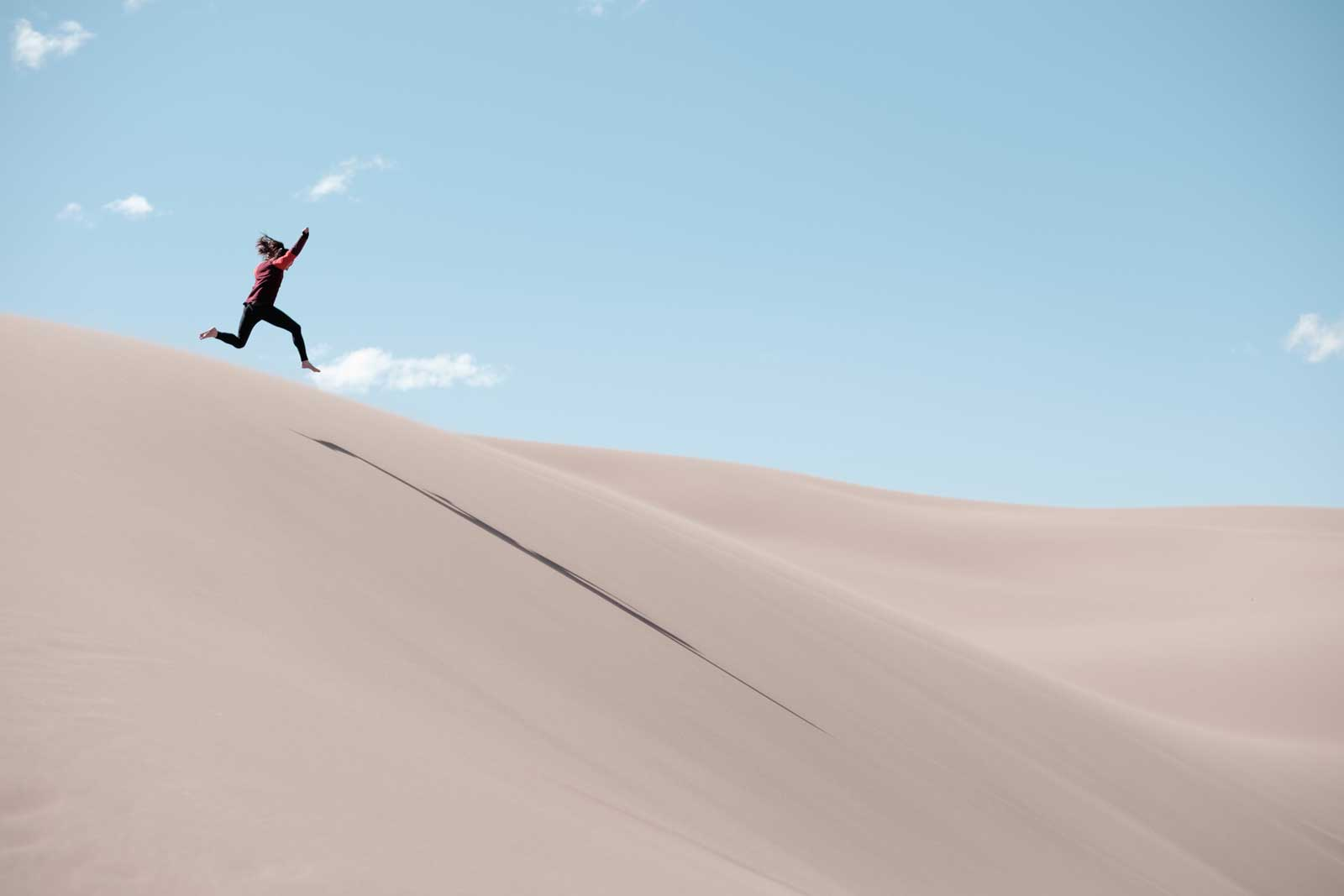 Saying Yes to Adventure - Sand Dunes Play