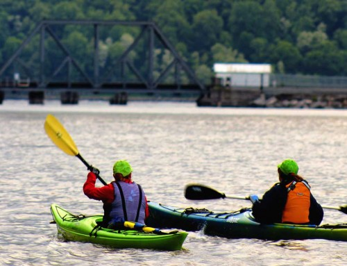 Youth Kayaker Tests the Quality of Water Where She Paddles