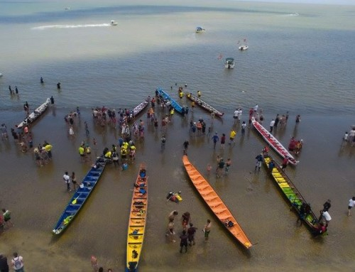 Paddling French Guiana's Ocean Waters by Pirogue