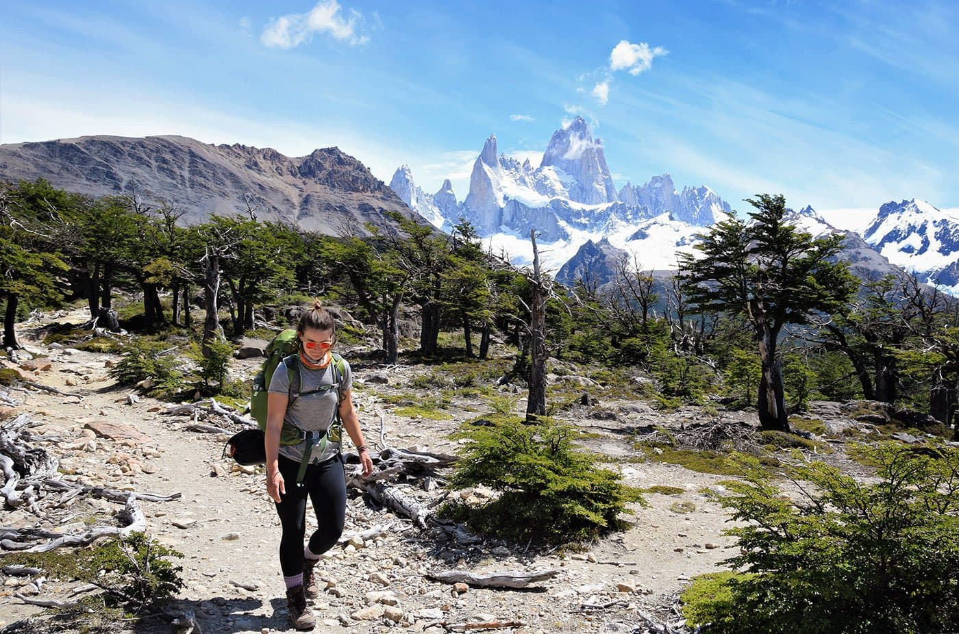 Adventuring as a Mom - Outdoor Women's Alliance - Trekking Fitz Roy