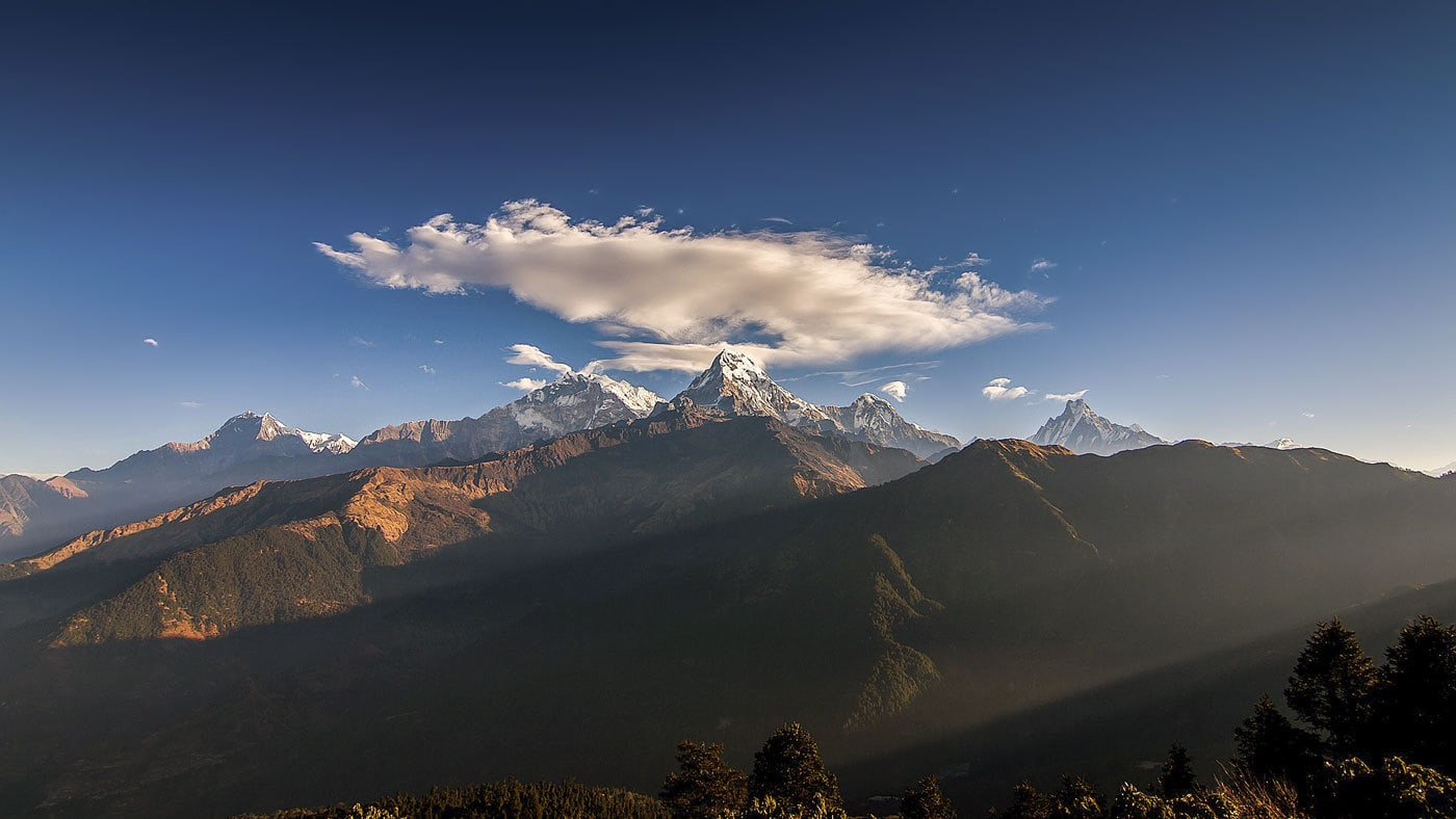 Annapurna Circuit Misadventure - mountain view