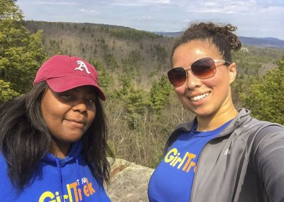 Black family history outdoors - friends hiking