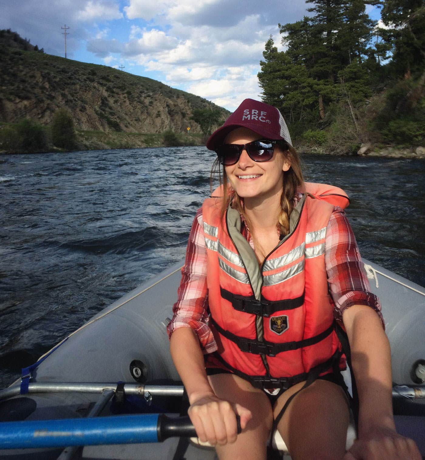 Getting Back on Whitewater - Author