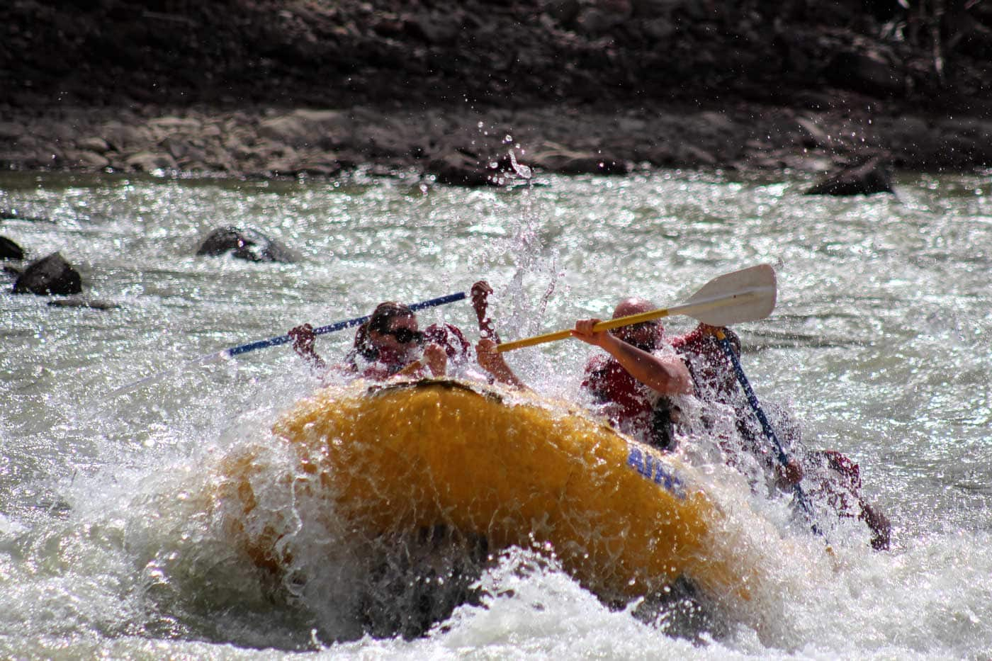 Getting Back on Whitewater - Hole