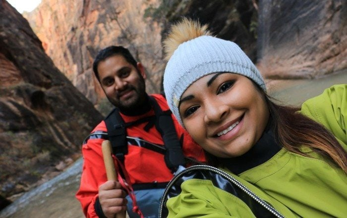 Brown People Camping-Ambreen Hiking