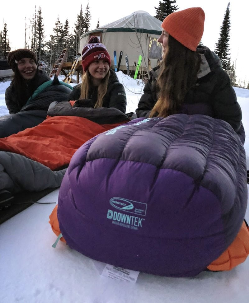 Cold Camping Winter Sleeping Bag Review Outdoor Women S