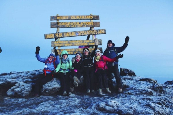 Sea-level-to-Kilimanjaro---family-at-the-summit