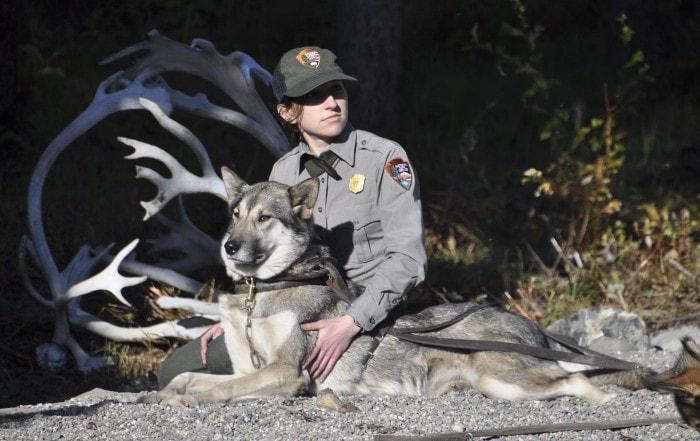 Park ranger Andrea Willingham